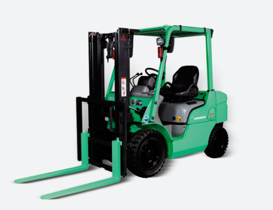 GRENDIA EX系列  载重4000-5500kg 四轮柴油平衡式叉车