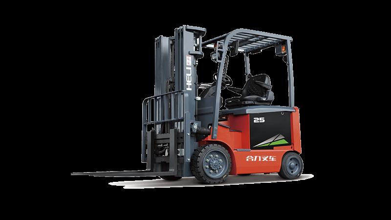 G系列2-3.2吨小轴距交流蓄电池平衡重式叉车